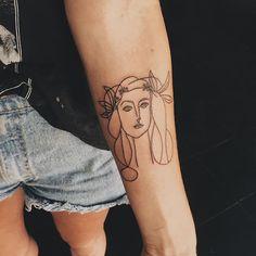 olivia harrison @fearbear Picasso sketch fo...Instagram photo | Websta (Webstagram)