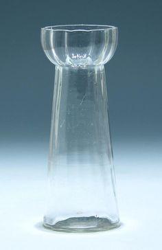 Hyazinthenvase 1. H. 20. Jh. #hya169 in Antiquitäten & Kunst, Glas & Kristall, Antikglas   eBay