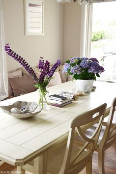 Mein Wochenende Und Ideen Zur Tischdeko Mit Lupinen + Hortensien