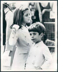 Caroline & John Kennedy