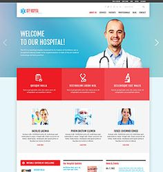 WordPress Theme City Hospital by CrocoBlock - The Fastest Growing WordPress Club