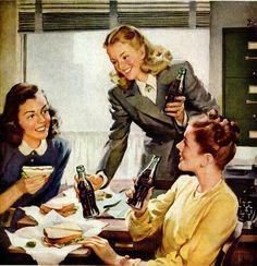 Vintage Coca-Cola 1947