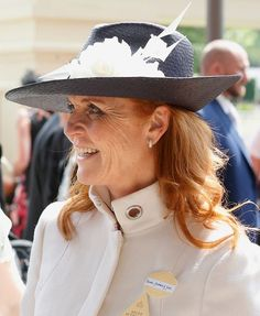 Sarah Ferguson, Duchess of York attends day 4 of Royal Ascot at Ascot Racecourse on June 2016 in Ascot, England. Sarah Duchess Of York, Duchess Of Cambridge, Princess Beatrice, Princess Eugenie, Royal Ascot, Eugenie Of York, Sarah Ferguson, Duke Of York, Prince Andrew