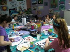 Colorful Kids Arts Lessons, Amesbury, MA Kids will spend a fun filled week creating many art projects using various mediums. They will also enjoy creative games, movement and performance art.