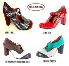 Zapatos dama multicolor de trakabarraka