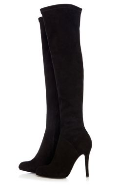 Stretch suede boot from Karen Millen