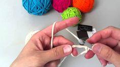 Jak vytvořit kouzelný kroužek k háčkování v kruhových řadách