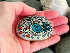 Silly Little Love Song -Painted Rock / Sandi Pike Foundas