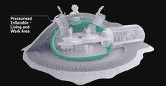 en 2013 qu'il était possible d'utiliser de la régolithe lunaire (la roche que l'on trouve sur la Lune) pour imprimer une structure en 3D.