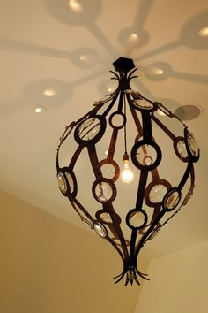Love this chandelier ~ Jeffers Design Group