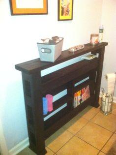 Skinny Foyer Table, Pallet Wood Console Table, Sofa Table, Louisiana. $169.00, via Etsy.