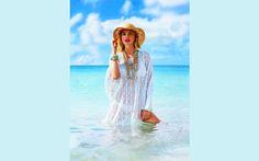 Beach Cover Ups for Women: Plus Size Tunics, Dresses, Caftans, Sarongs | Boomerinas.com