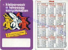 1966 - 1966_0029 - Régi magyar kártyanaptárak