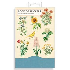 Jardin Botanique Book of Stickers from Galison