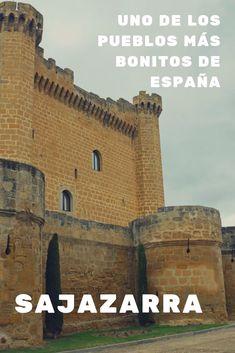 Sajazarra, uno de los pueblos más bonitos de España Best Places To Travel, Best Cities, Places To Visit, Real Castles, Medieval, Spain Travel, Valencia, Tourism, Europe