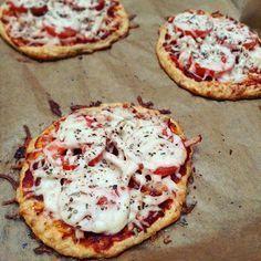 Fitnesz pizza túróból és zabpehelyből