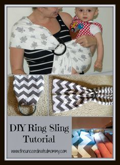 DIY Ring Sling Tutorial @Sharon Wolcott