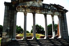 Ancienne cité grecque Apollonie d'Illyrie