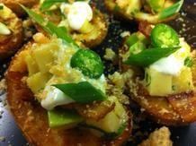 Bacon and Avocado Potato Skins Recipe