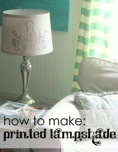 DIY Arts &  Crafts : DIY graphic lampshade