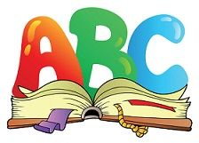 Royalty-free clipart picture of ABC over an open book, on a white background. This royalty-free cartoon styled clip art picture is available as a fine art print and poster. Royalty-Free (RF) Clip Art Illustration of ABC Over An Open Book by visekart Abc Cartoon, Cartoon Photo, Open Book Drawing, Reading Pictures, Printable Preschool Worksheets, Letter Worksheets, Free Printable, Printables, School Murals