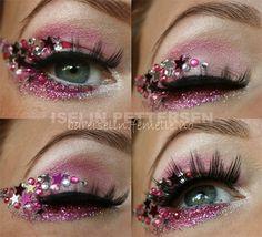 Amazing Valentines Day Eye Mak Up Looks Ideas 2014 For Girls 6 Amazing Valentines Day Eye Make Up Looks & Ideas 2014 For Girls