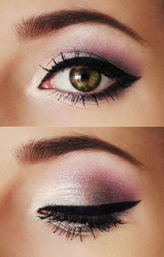 makeup - brown eyes