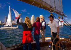 Sailing in San Diego