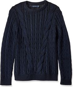Mens Cable Knit Sweater, Men Sweater, Kids Fashion Boy, H&m Online, Rib Knit, Fashion Online, Sportswear, Man Shop, Pullover