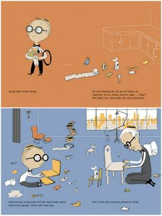 book for kids who like architecture, young frank architect