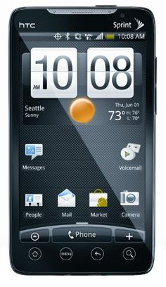 HTC EVO 4G Android Phone (Sprint)  Everything we need! Maps, internet, camera, all in one!