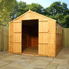 Found it at Wayfair.co.uk - 8 x 10 Wooden Shiplap Apex Storage Shed