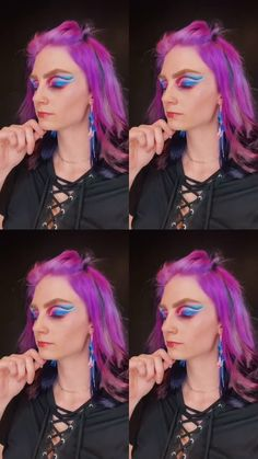 @ashleykindtbeauty just redefined multi-colored hair in my book 🥰😍🌈 Try it yourself with Sunset Orange, Virgin Pink, + Purple Rain! Arctic Fox Purple Rain, Arctic Fox Hair Dye, Semi Permanent Hair Dye, Color Melting, Bright Hair, Fade Color, Light Blonde, Colored Hair, Free Hair