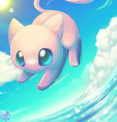 pokemon mew art