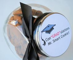 Easy Graduation Gift Idea-Smart Cookie - Crazy Little Projects