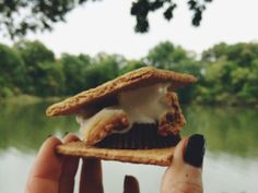 The ultimate fireside treat: Reese's S'mores!