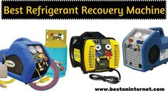 Portable refrigerant recovery machine  http://www.bestoninternet.com/tools-home-improvement/tools-equipment/refrigerant-recovery-machine/  Though the refrigerant recovery system is a bit expensive and complicated, you will find a number of choices out there in the market.