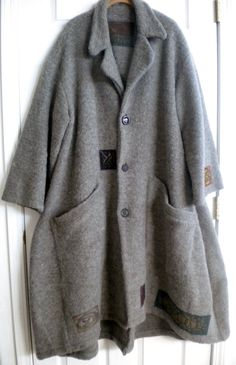 https://flic.kr/p/iq4P6n | Bluefish Grey wool Cormac Coat