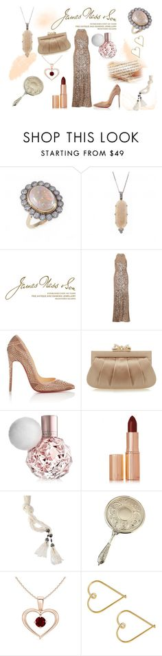 """Opals"" by jamesness on Polyvore featuring Wedgwood, Christian Louboutin, Wilbur & Gussie, Charlotte Tilbury, Frasco, Lee Renee, women's clothing, women, female and woman"