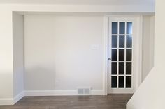 Wall color- Silver Satin Benjamin Moore
