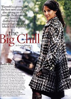 Last additions - JB More 002 Jennifer Beals, The L Word, Big Chill, Love You So Much, Good News, A Team, Bring It On, Lady, Coat