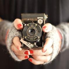 Cute little camera.