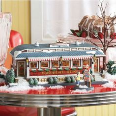 Department 56 - Christmas in The City - American Diner | Department 56 Villages, Free Shipping on Dept 56