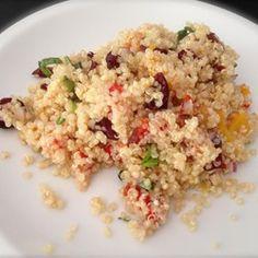 Zitronen Basilikum Quinoa Salat Rezept