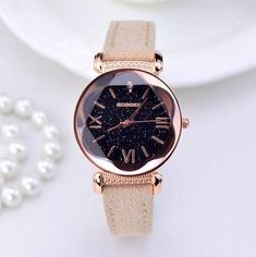 New Fashion luxury Brand Rose Gold Leather Watches Women, Ladies casual Dress Quartz wristwatch Reloj Mujer Relogio Feminino Stylish Watches, Cool Watches, Watches For Men, Women's Watches, Watches Online, Cheap Watches, Luxury Watches, Ladies Watches, Black Watches
