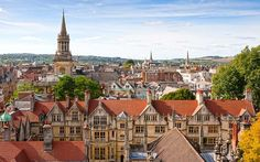 Britain's most visited cities 7. Oxford
