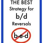 "As a special education teacher, my young students have struggled with reversals and differentiating between the /b/ and /d/ sounds, when reading and writing. We often teach them the ""b-e-d"" strategy, but students continue to confuse the letters and sounds. It just doesn't work..."