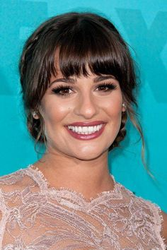 Lea Michele's best makeup and beauty looks —May 2012