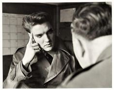 Elvis Presley Original News Service Photo from His Time in the Army from The Auction at Graceland on January 6, 2018   Sergeant Elvis Presley on March 4, 1960, one day before his discharge from the army which he received at Fort Dix, NJ on Saturday, March 5, 1960.