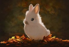 World cute illustration, animal drawings, animal sketches, animal illustrat Animal Sketches, Animal Drawings, Animal Illustrations, Art Mignon, Bunny Painting, Most Beautiful Images, Autumn Art, Creature Design, Cute Illustration